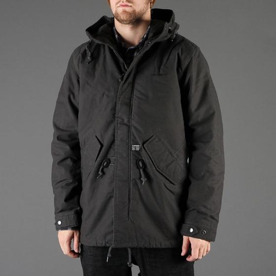 carhartt giacca giubbino clash parka jacket black nero. Black Bedroom Furniture Sets. Home Design Ideas